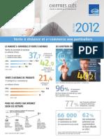 Chiffres clés de la relation client à distance 2012