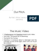 Music Video Pitch
