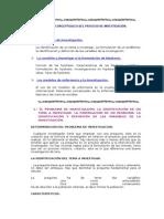 BASES CONCEPTUALES DEL PROCESO DE INVESTIGACIÓN