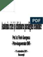 Anatomia Crizei Si Schimbarea Paradigmei Economice - Florin Georgescu