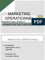 Marketing Direct et Opérationnel
