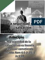 La seguridad de la salvación IV aniversario IBE Callao