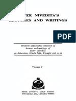 The Complete Works of Sister Nivedita - Vol. V