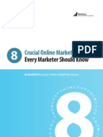 8 Crucial Marketing Tools