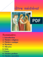 théatre medieval