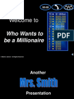 Who Wants to Be a Millionaire Verb Review