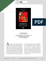 Miguel P. CALDAS - Demissão