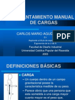 Levantamiento Manual de Cargas