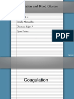 Coagulation and Blood Glucose