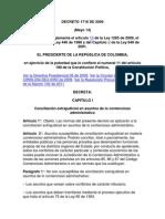 Conciliacion Extrajdical Contencioso Decreto 1716 de 2009