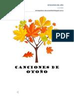 CANCIONES otoño