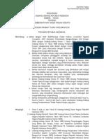 Draft RUU Tipikor Versi Pemerintah Agustus 2008