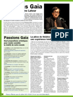 Programme Passions Gaia Toulouse