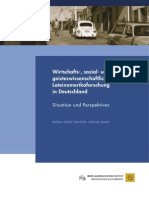 Göbel, Barbara; Birle, Peter; Specht, Johannes (2009) - Wirtschafts-, sozial- und geisteswissenschaftliche Lateinamerikaforschung in Deutschland