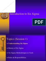 Six Sigma Intro Jan 2005