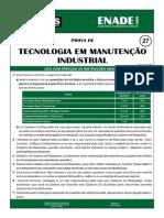 Exercicios  Manutenção Industrial