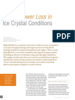 Engine Power Loss in Ice Crystal Conditions