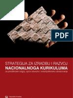 Strategija - kurikulum