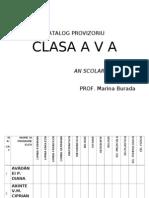 Catalog Provizoriu