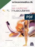 Busquet Leopold - Las Cadenas Musculares - Tomo 2 (7ed)