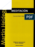 Besinnung Meditación