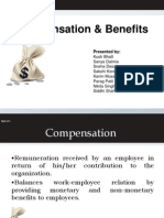 Compensation and Benefits- Group 6