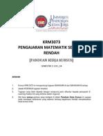 Tugasan KRM3073 PengMath SekRend 1 2013_14