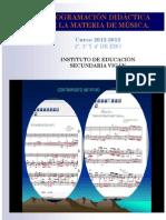 PD- PROGRAMACIÓN DIDÁCTICA DE MÚSICA. IES VIGÁN.12-13