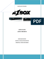 Azbox Hd ES Manual