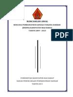 Rancangan Awal RPJPD Nias Barat