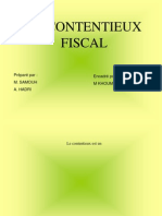 Contentieux fiscal en matière de TVA