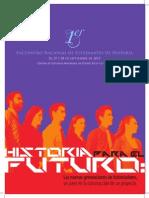 Programa Primer Encuentro Nacional  Estudiantes de Historia de Puerto Rico