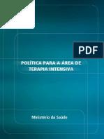 POLÍTICA PARA A ÁREA DE TERAPIA INTENSIVA