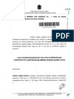 Advocacia Geral da União Contra Pedro Nadaf e Carlina Jacob