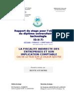 LA FISCALITE INDIRECTE DES ENTREPRISES ET SON IMPLICATION COMPTABLE.doc