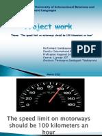 english проект motorway
