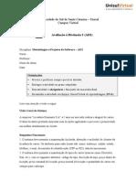 Metodologia e Projetos de Sofware