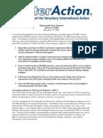 G8 08 Policy Statement HEALTH