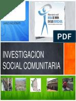Investigación Social Comunitaria
