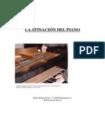 La Afinacion Del Piano