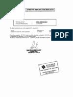 Inscripcion en el Registro Publico