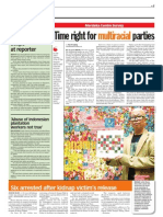 Thesun 2009-07-01 Page07 Merdeka Centre Survey Time is Right for Multiracial Parties