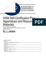 SCP Appendices and Resource Materials 2008