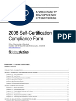 SCP Compliance Form 2008