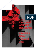 Malaysia-Poland Residency Program Booklet