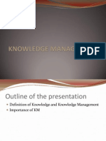 Presentation on KM