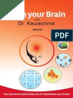 """Manual """"Train your Brain"""" with Dr. Kawashima"""