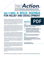 Setting a Bold Agenda - About InterAction