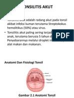 Tonsilitis Akut Tugas Anisa