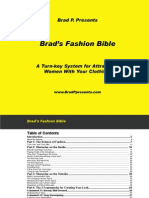 Brad`s Fashion Bible
